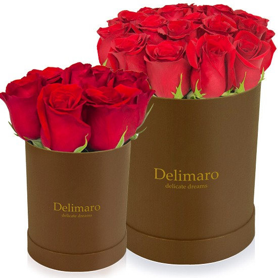 Delimaro™, pudełko prezentowe, flower box